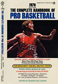 1978 Complete Handbook of Pro Basketball