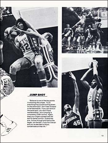 Julius Erving photos by Larry Berman used in Black Sports Magazine
