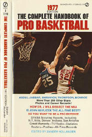 1977 Complete Handbook of Pro Basketball