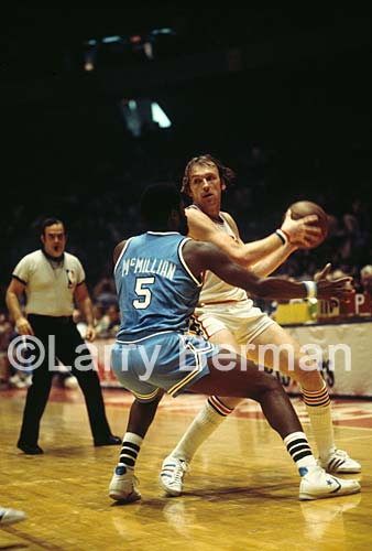 Billy Cunningham photo by Larry Berman