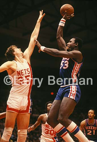 Darryl Dawkins photo by Larry Berman