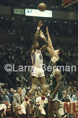Dr J photo by Larry Berman