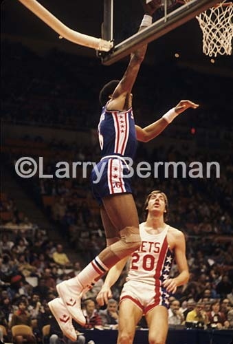 Julius Erving Dr J photo by Larry Berman