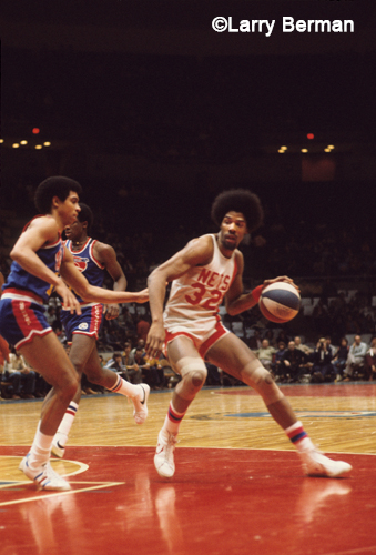 Julius Erving Dr J photos by Larry Berman
