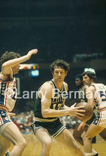 John Havlicek photo by Larry Berman