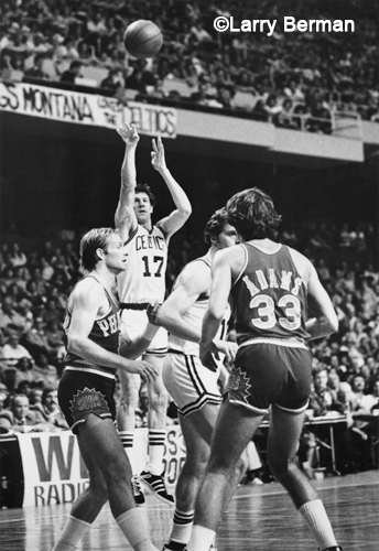 John Havlicek picture by Larry Berman