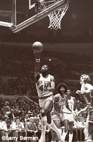 Spencer Haywood photo by Larry Berman
