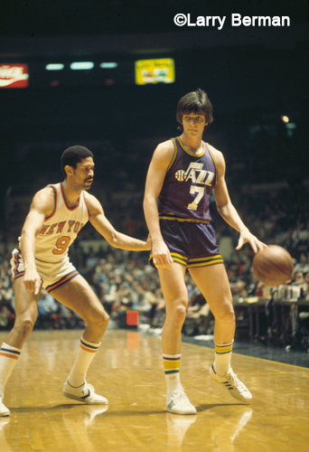 Pistol Pete Maravich photo by Larry Berman