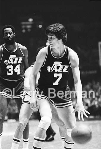 Pete Maravich photograph by Larry Berman
