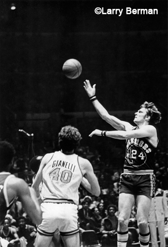Rick Barry photograph by Larry Berman