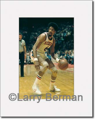 Dr J photos by Larry Berman